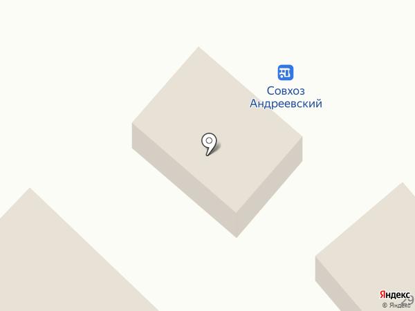 Сеть продовольственных магазинов на карте