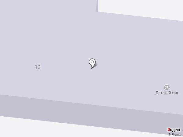 Елыкаевский детский сад на карте