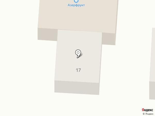 Азерфрукт на карте