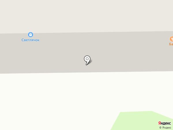 За рулём на карте