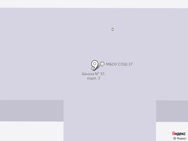 Средняя общеобразовательная школа №37 на карте