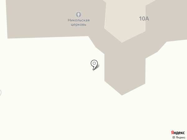 Храм в честь Святителя Николая Чудотворца на карте