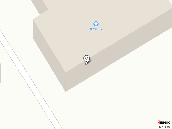 Дачник на карте