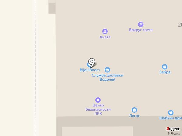 Бижу на карте