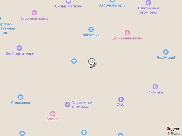Александрит на карте