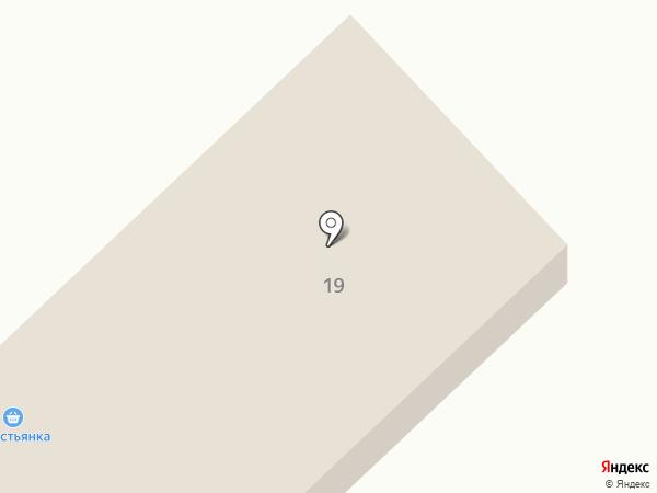 На Разъездной на карте