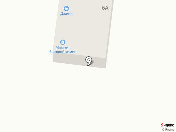 ДЖИНН на карте