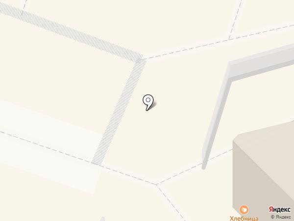 Снежный городок на карте