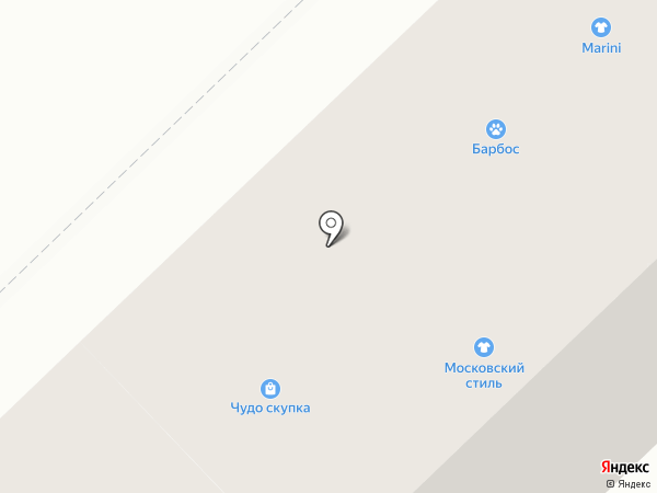 Омский бекон на карте