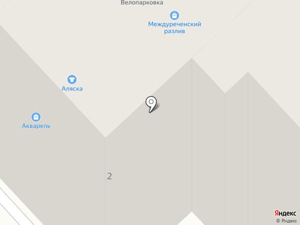 Алясkа на карте