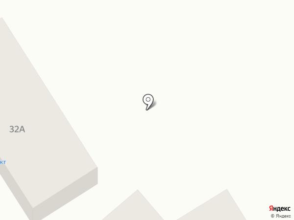 Нижний на карте