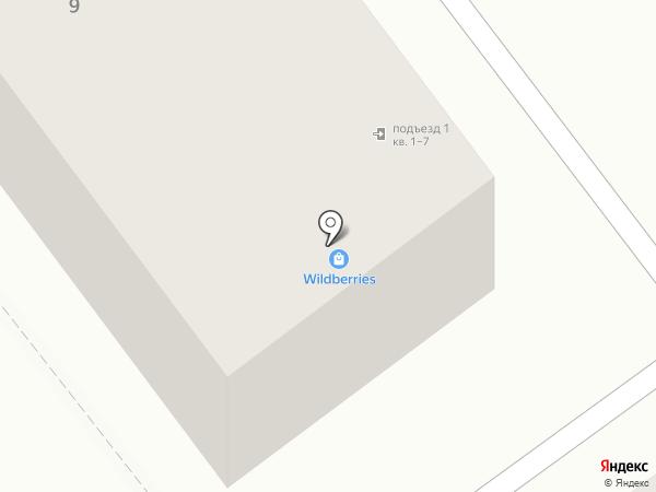 У дворца на карте