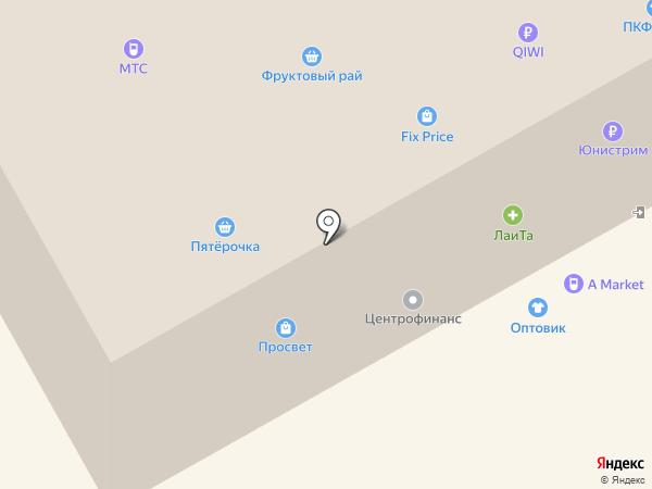 Android-market на карте