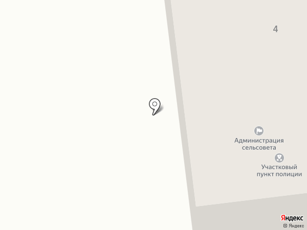 Администрация Расцветовского сельсовета на карте