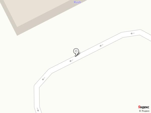 АЗС RUSH на карте