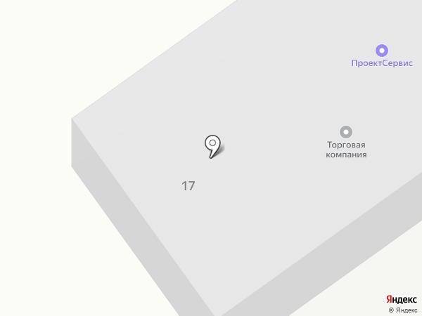 ПроектСервис на карте