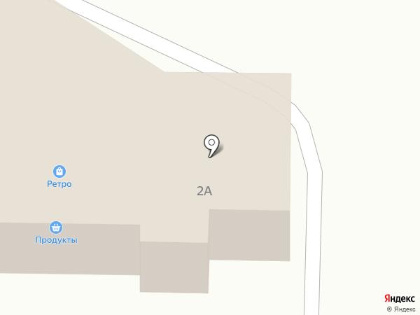 Элитовский на карте