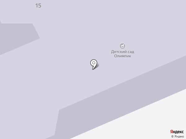 Олимпик на карте