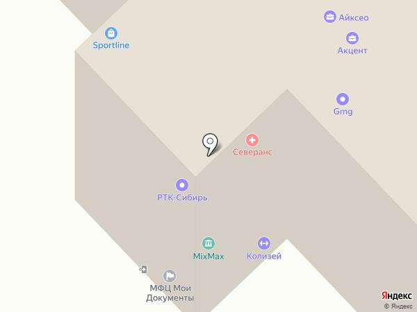 Леди Шарм на карте