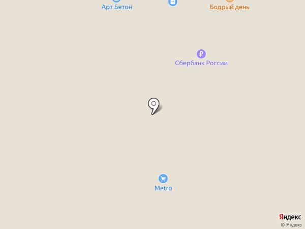 Бодрый день на карте