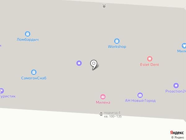 Filin на карте