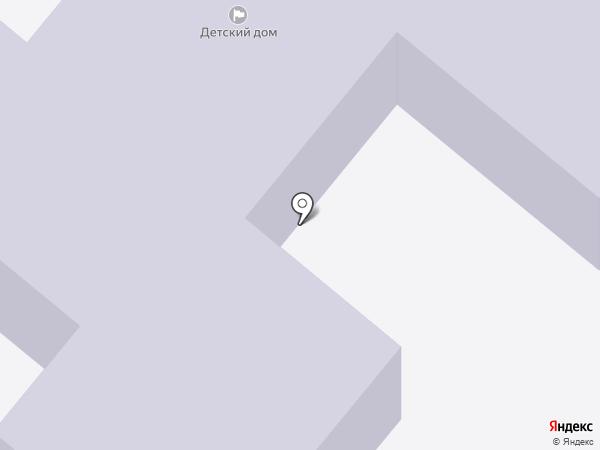 Сосновоборский детский дом на карте