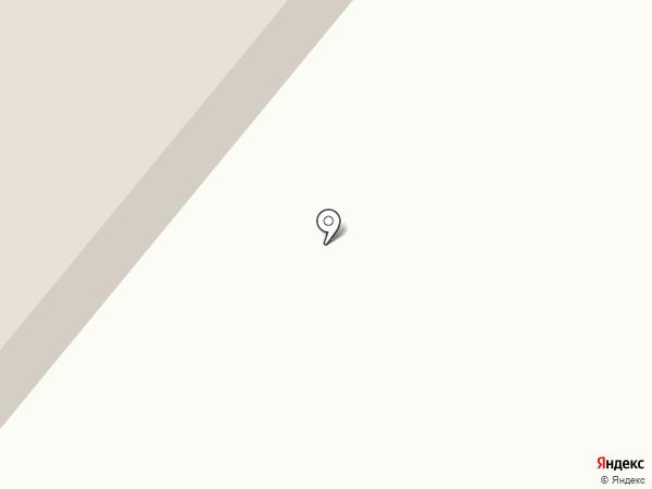 Солнечная на карте