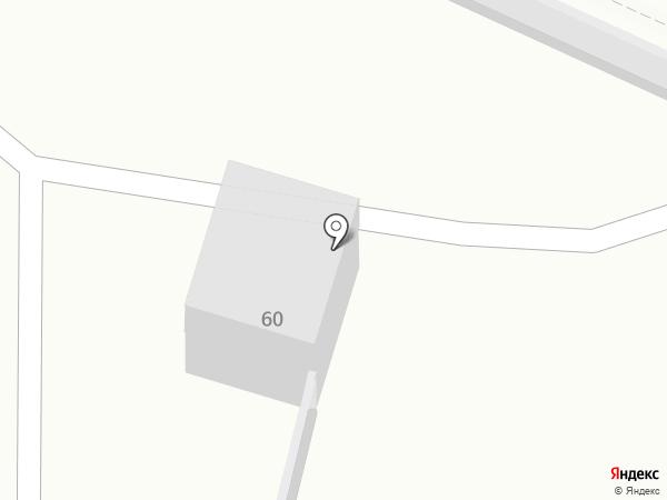 Шиномонтажная мастерская на ул. 60 лет ВЛКСМ на карте