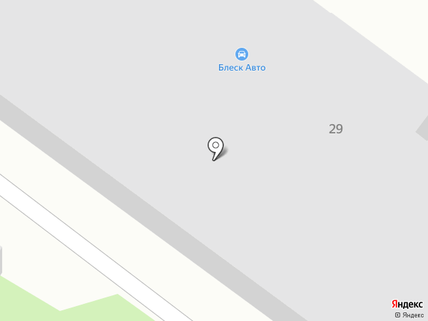 Блеск Авто на карте