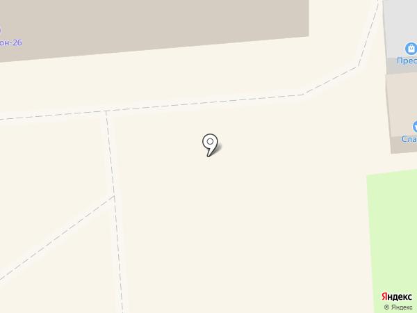 Балтийский на карте