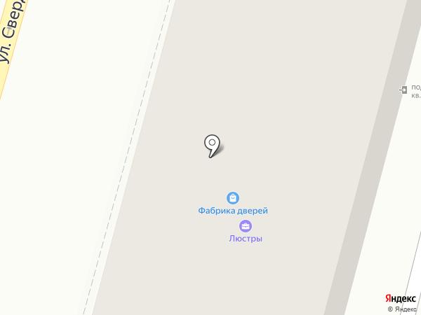 Фабрика дверей на карте