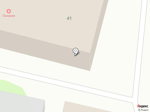 Панакея на карте