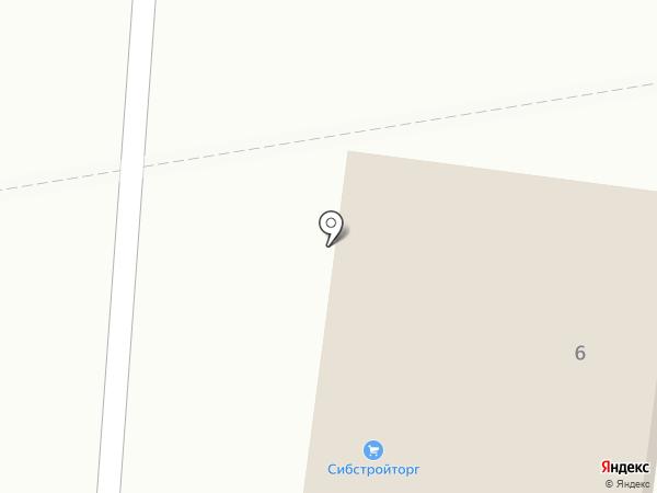 Полина на карте Вихоревки