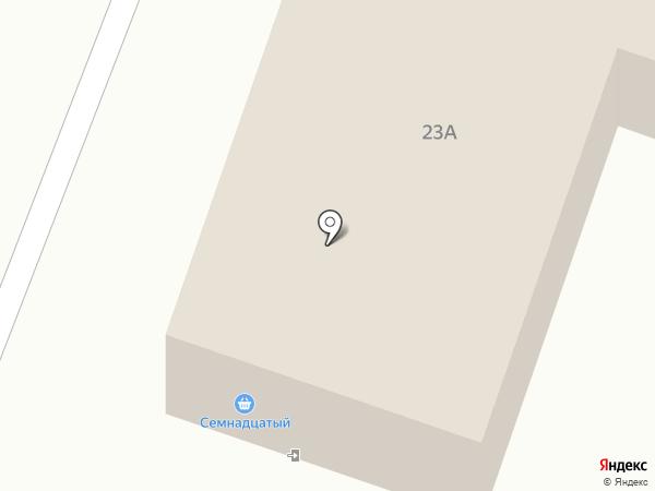 Любимый на карте Вихоревки