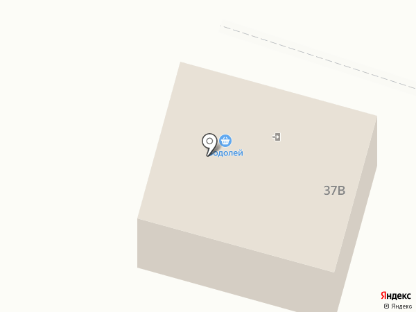 Водолей на карте Вихоревки