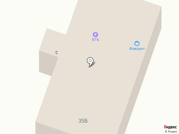 Фаворит на карте Вихоревки