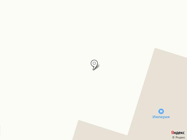Империя на карте Вихоревки