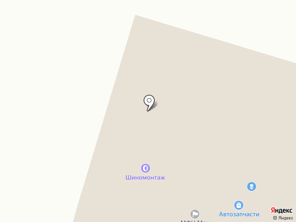 Магазин на карте Вихоревки