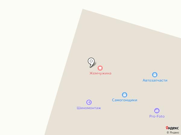 Парикмахерская на карте Вихоревки