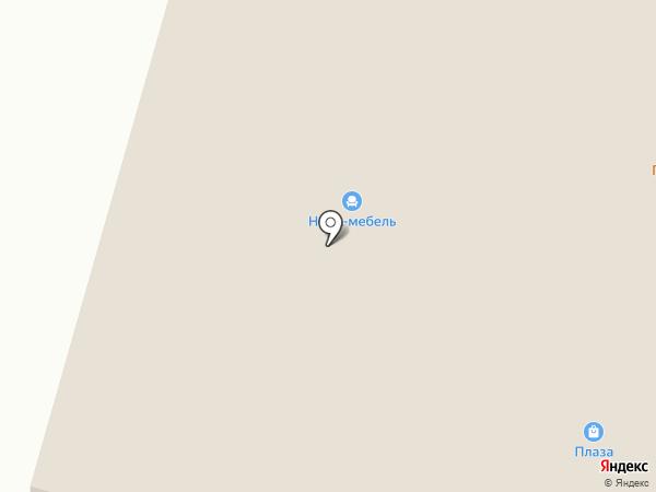 Магазин обоев на карте Вихоревки