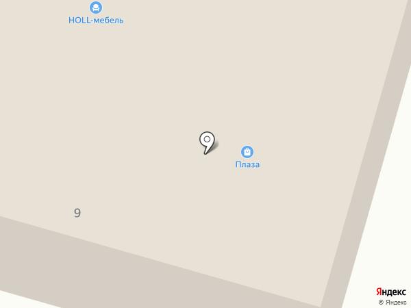 HOLL-мебель на карте Вихоревки