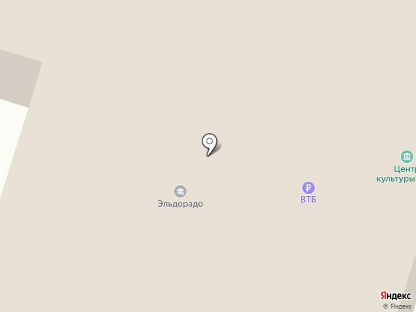 Братский центр культуры на карте Вихоревки