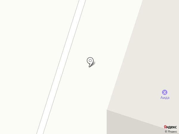Аида на карте Вихоревки