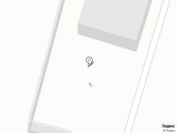 Магазин фруктов и овощей на карте Вихоревки