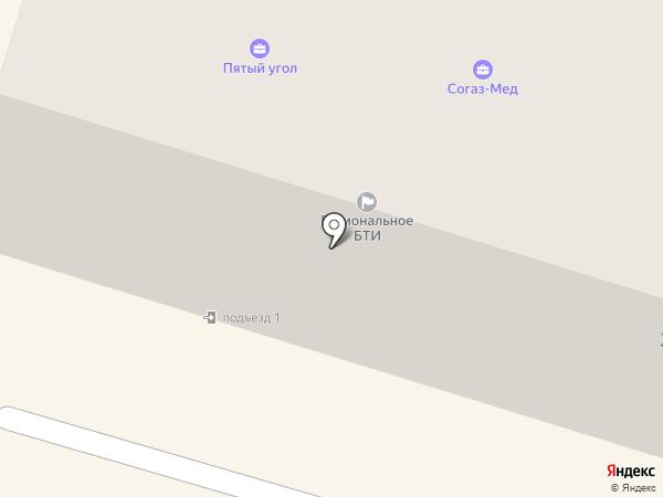 Пятый угол на карте Вихоревки