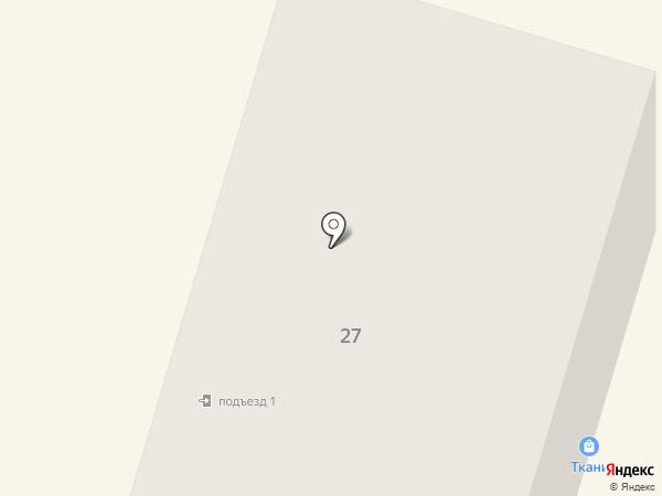 Магазин детского трикотажа на карте Вихоревки