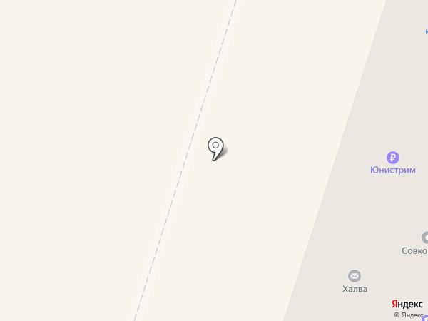 Октант на карте Вихоревки
