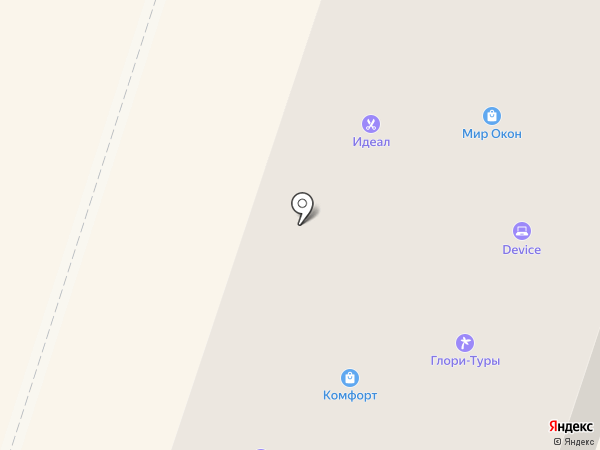 Симба на карте Вихоревки