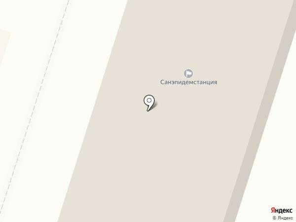 Центр гигиены и эпидемиологии по железнодорожному транспорту на карте Вихоревки