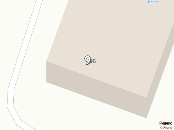 Магазин женской одежды и бытовой химии на карте Вихоревки